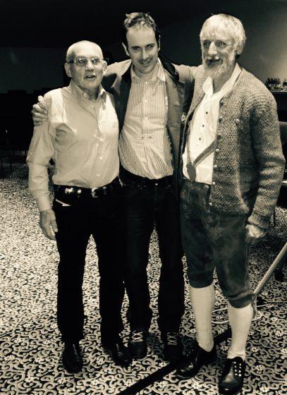 Von Links: Oswald Ölz, Ulli, und Wolfgang Schaffert